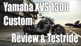 10. Yamaha XVS 1300 Custom / Stryker Review & Testride