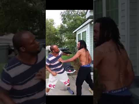 2 BROTHERS FIGHT OVER PREGNANT GIRLFRIEND....