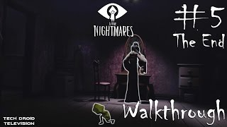 **SUBSCRIBE To Save Me**https://www.youtube.com/techdroidtelevisionLittle Nightmares Full Game Play PART 1 - The SIX - https://youtu.be/zgJ58T6Hc0sPART 2 - The JANITOR - https://youtu.be/fe73NZw7x-cPART 3 - The TWIN CHEFS - https://youtu.be/TZnzso3c2vQPART 4 - The GUESTS - https://youtu.be/PgEJVx3KkS0PART 5 The END - The LADY - https://youtu.be/epA9gn3vhG0PART 5 - The LADYThe mysterious, graceful proprietress of the Maw, who casts a hypnotic spell that keeps the engine running. Dressed in a mask and kimono, she surveys the guests from her room and haunts Six's dreams.**Little Nightmares Walkthrough Gameplay Part 5 includes a Game Review and the Full Game Little Nightmares.Little Nightmares Gameplay Walkthrough will include the Characters, Six, Hugged Nomes, Smashed Statues, All Chapters, Puzzles, Cut Scenes, Cinematics, Good Ending, Bad Ending, Monsters, Jump Scares and the Ending of the Single Player Story Campaign.*STORY*A nine-year-old hungry girl named Six is trapped in The Maw – a surreal resort catering to the whims of sick and powerful creatures. After waking up in the lower depths of the Maw, Six decides to escape the harsh confines, having regular moments of excruciating hunger. Whilst ascending, she soon becomes stalked by the long-armed blind Janitor of the Maw; who has been capturing children and sending them on an overhead hook conveyor belt. She eventually becomes trapped by the Janitor after being lured by food, though she manages to escape. After evading the Janitor by cutting off his arms with a door, Six follows the conveyor belt upward, to a large kitchen operated by the grotesque Twin Chefs. After another bout of hunger, Six is forced to eat a live rat. The Chefs are preparing a large feast, and attempt to kill Six whenever she enters their line of sight. After managing to evade them, she finds a way out, but discovers the entire Maw is beneath a large ocean.Six observes a boat ferrying large and obese suited Guests, who lumber to the Japanese-st
