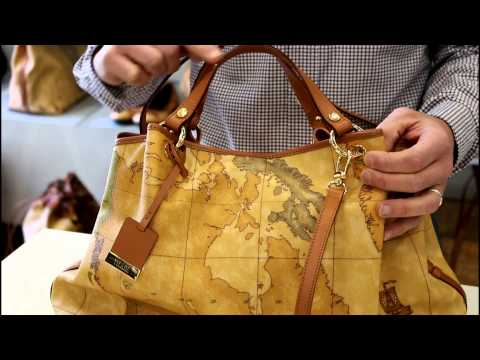 Video come riconoscere una borsa Alviero Martini 1^ Classe originale da una falsa