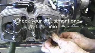 10. Ural 750 Tappet Adjustment