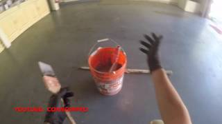 How to Epoxy Coat a Garage Floor by CoKnowPro (YouTube)