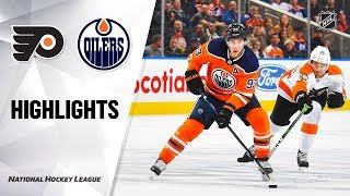 Flyers @ Oilers 10/16/19 Highlights by NHL