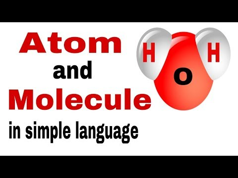 Atom and Molecule in hindi for class 9th