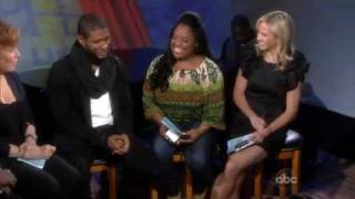 "Usher On ""The View"""