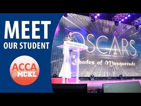ACCA@MCKL | Handling leadership role while juggling coursework