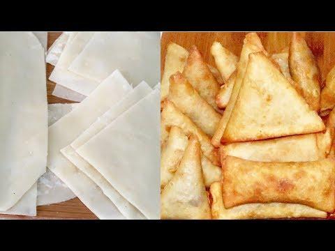 How To Make Samosa and SpringRoll || Simple Homemade Recipe
