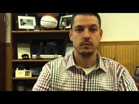 Matt Logie men's basketball December 8, 2014
