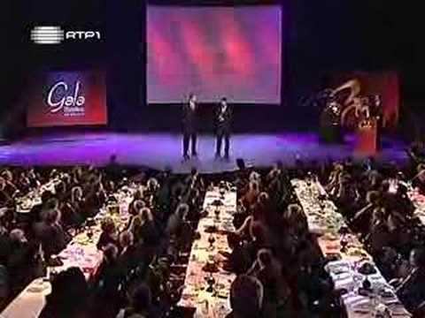 Gato Fedorento na Gala do Sport Lisboa e Benfica - Parte 2