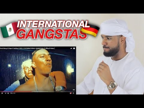 ARAB REACTION TO GERMAN RAP BY Farid Bang X Capo X 6ix9ine X SCH // INTERNATIONAL GANGSTAS //