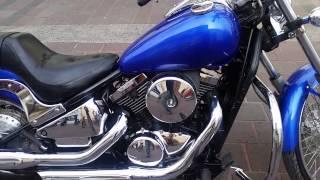 9. Kawasaki vulcan custom 800 cc año 2005