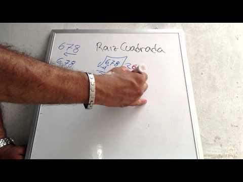 Raiz cuadrada, Matematicas básicas