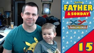 Pokémon Cards - Opening XY Phantom Forces Packs w/ Lukas! | Father & Sonday #15 + GIVEAWAY RESULTS! by The Pokémon Evolutionaries
