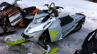 9. 2014 Ski Doo Freeride at BRP Demo Day Quartz Creek Golden, BC March 16 Go Pro Hero Cam