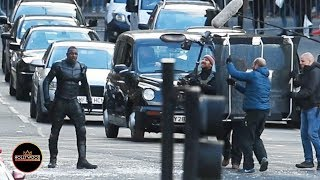Nonton Idris Elba Films Stunt Scene For  Fast   Furious  Spinoff  Hobbs And Shaw  In Glasgow Film Subtitle Indonesia Streaming Movie Download