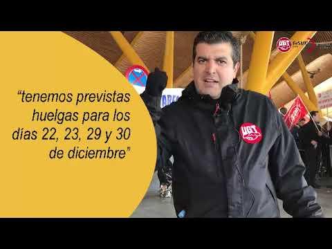 VIDEO || Concentración en Cafeterías y Restaurantes de AREAS del aeropuerto de Barajas