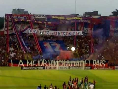 Recibimiento Cerro Porteño vs Tigre - La Mejor Hinchada del Pais - La Plaza y Comando - Cerro Porteño