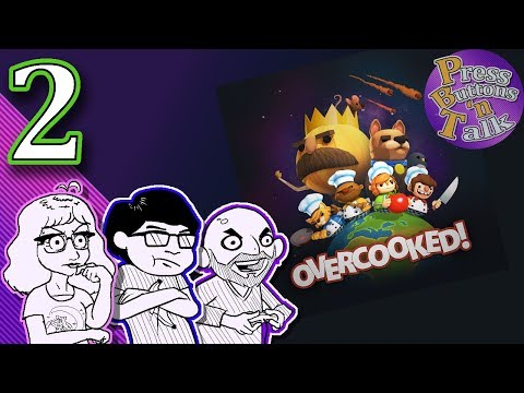 Overcooked, Ep. 2: Rico And The Cats - Press Buttons 'n Talk