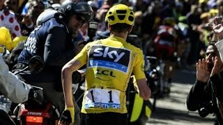 Video CAIDA DE CHRIS FROOME INCREIBLE ETAPA 12 DEL MONT VENTOUX TOUR DE FRANCIA 2016 MP3, 3GP, MP4, WEBM, AVI, FLV September 2017
