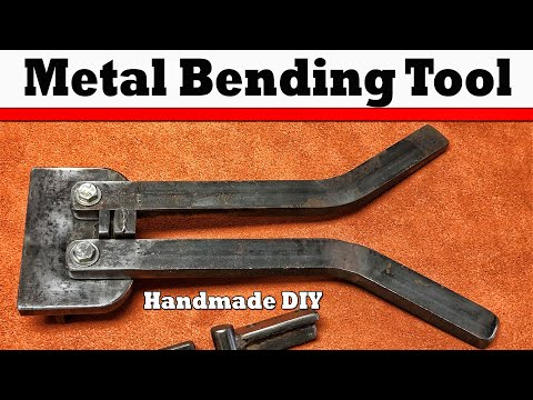 0 Metal Bender   Extended Version   How to bend loops for handmade buckles