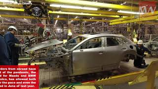 BMW, Mazda and GM recover the pace of vehicle production in Mexico