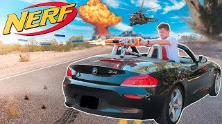 NERF WAR where we have to defend the house with the NERF CAR Turret! This NERF GUN MOD is awesome! In todays toy video we create a nerf gun mod and have a NERF WAR! We love using toy nerf guns there aweseome! If you want more toy videos or toys review videos subscribe!  Papa Jake is for kids and family friendly content! hope you enjoy! Check Out my Previous Box Fort Challenge  Videos!BOX FORT VS THE ARCTIC CHALLENGE!https://youtu.be/bIZEZ7Fbtow3:00 AM BOX FORT CHALLENGE!https://youtu.be/tkmqHUOZ3ecBOX FORT SUBMARINE CHALLENGE!!https://youtu.be/FEeh1oA-pF8WORLDS BIGGEST BOX FORT NERF WAR! 1v1 NERF BATTLE!https://youtu.be/pxfEL5qpuKwBOX FORT ZOO CHALLENGE!https://youtu.be/ArSG0Wnj828BOX FORT Vs VOLCANO CHALLENGE!https://youtu.be/mOyGEkgYNS8BOX FORT BOAT VS TSUNAMI CHALLENGE!https://youtu.be/yVUCcLQpFzYFLYING BOX FORT CHALLENGE! 📦 https://youtu.be/uylorgdebp4BOX FORT BOAT SURVIVAL CHALLENGE! https://youtu.be/k1kGBjlyYzEGet Awesome Papa Jake Merchandise! https://shop.bbtv.com/collections/team-epiphanySubscribe To My Gaming Channel - Papa Jake Games! https://www.youtube.com/watch?v=a01luoUVJ5cSubscribe To My Second Channel - Papa Jake Toyshttps://www.youtube.com/channel/UCmeNL9Nc2H1Mezu3gcb1hlAFOLLOW ME!!! LET'S BE FRIENDS:● Twitter - https://goo.gl/s1laJW● Facebook - https://goo.gl/sCnm8B● Instagram - https://goo.gl/x6H5Er● Snapchat - PapaJakeTE● Logan The Editor Instagram - https://goo.gl/842JeDCheck Out The Awesome Glowing 1000 degree KNIFE Videos:.com/watch?v=KiWNeqG_fp4MAIL ME STUFF :)119-660 Eglinton AVE.EAST SUITE 201 TORONTO, ON. M4G 2K2CanadaWARNING: This video is only for entertainment purposes. Do not attempt to recreate any of the acts in this video, as they may be dangerous if not done correctly, and could result in serious injury. If you rely on the information portrayed in this video, you assume the responsibility for the results. Have fun, but always think ahead, and remember that every project you try is at YOUR OWN RISK.
