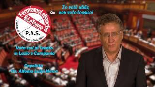 Spot di Marra per elezioni al Senato in Lazio e Campania
