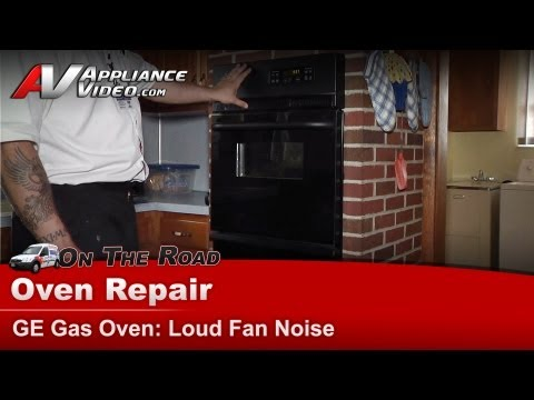 Wall Oven blower motor Repair – Loud fan noise – GE, Hotpint, RCA, General Electric – JGRP20BEJ1BB