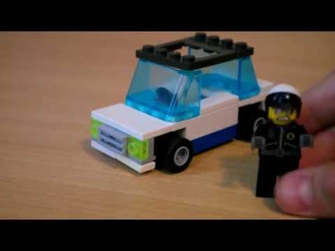 Как собрать машину из лего