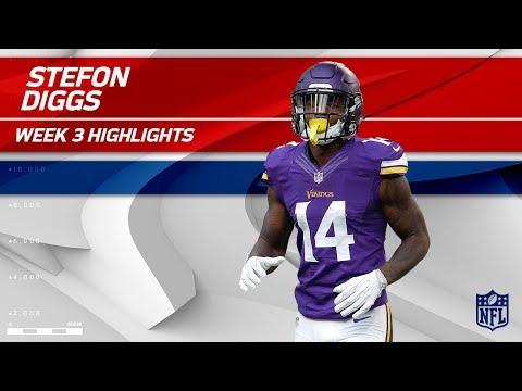 Video: Stefon Diggs Dominates w/ 2 TDs! | Buccaneers vs. Vikings | Wk 3 Player Highlights
