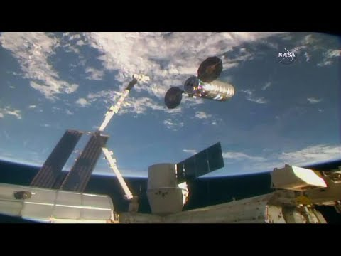 Astronauts Release U.S. Spacecraft Completing Cargo Mission_Spacecraft videos