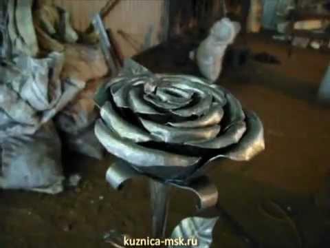 Ковка  Художественная ковка розы