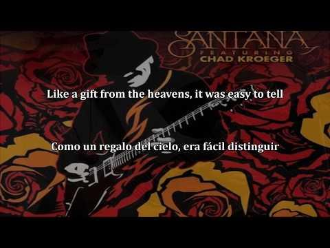 Santana [Feat. Chad Kroeger ] Into The Night Subtitulado y lyrics (HD)