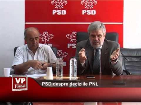PSD despre deciziile PNL