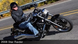 10. 2008 Yamaha Star Raider First Ride - MotoUSA