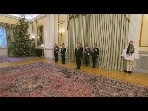 Ευχές για το νέο Έτος  στο Προεδρικό Μέγαρο