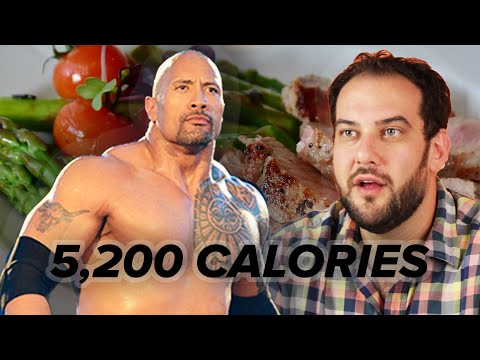 We Ate Like The Rock For 24 Hours