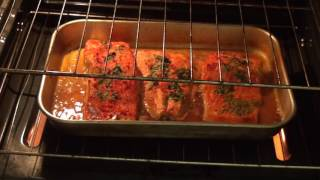 How to cook salmon in the oven, with instant idaho mashed potatoes,In izzy's kitchen enjoy. To see my other videos   click on ...