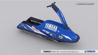 9. Yamaha Super Jet 3D
