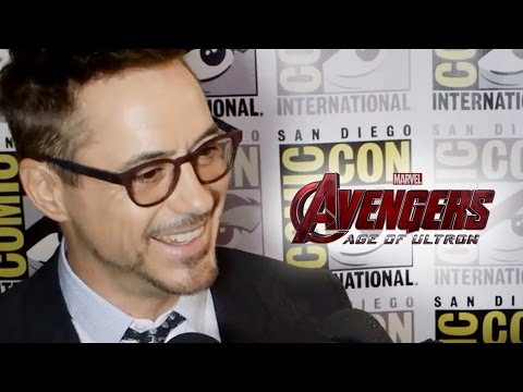 Robert - Chris Hemsworth Interview ▻ http://youtu.be/k1ANGeb6ap4 Subscribe Now! ▻ http://bit.ly/SubClevverMovies Robert Downey Jr talks all things Avengers: Age of Ultron at Comic-Con 2014. For...
