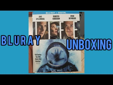 LIFE Bluray Unboxing