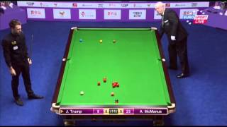 Judd Trump - Alan McManus (Decider) Snooker International Championship 2013 - Round 1