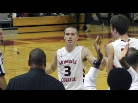 Jack Taylor scores 138 points for Grinnell College - vs Faith Baptist