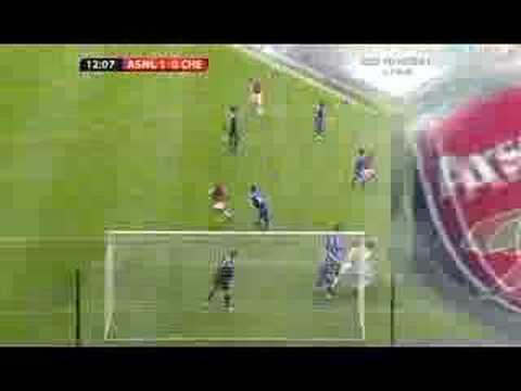 Su primer gol en el Arsenal