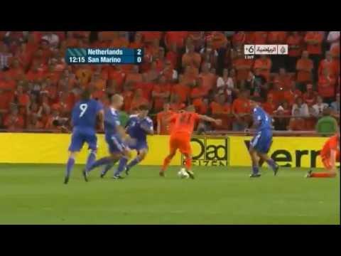 Netherlands vs San Marino 11-0 Full Highlights (Euro 2012 Qualifiers)