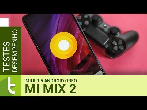 Tudocelular - Xiaomi Mi Mix 2 com MIUI 9.5 e Android Oreo continua com excelente #desempenho