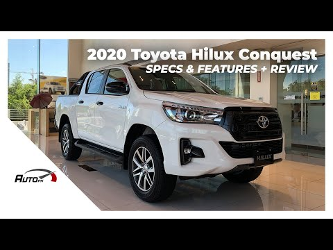 2020 Toyota Hilux Conquest 2.4 G 4x2 - Exterior & Interior Review (Philippines)