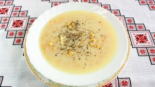 Сырный суп с курицей вкуснейший рецепт.