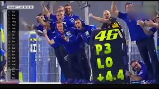 Video MOTOGP Qatar 2017 Best moment Vinales and Rossi MP3, 3GP, MP4, WEBM, AVI, FLV November 2017