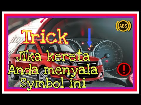 Punca Simbol Menyala Pada kereta Saga flx